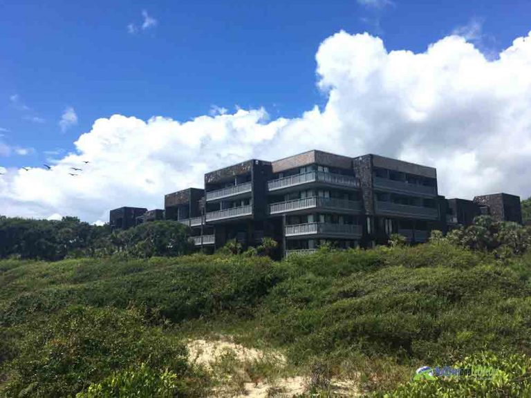 Condo building on a beach at Kiawah Island