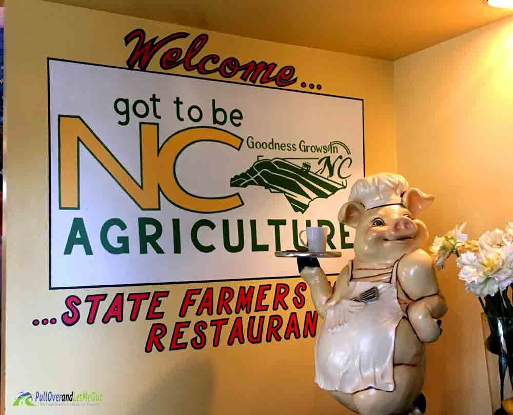 Welcome Pig NC Farmers Market Restaurant PullOverandLetMeOut