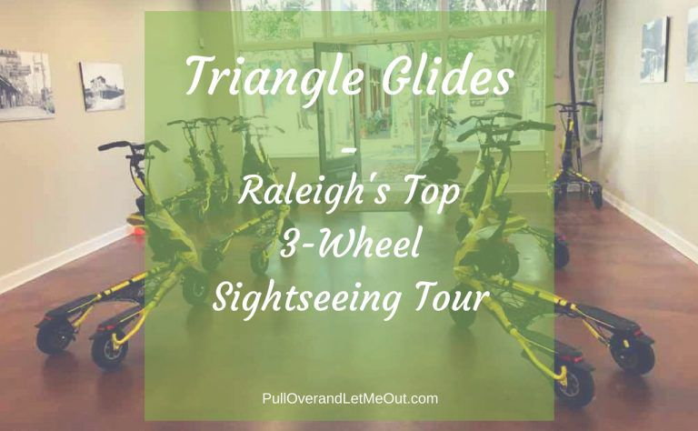 Triangle Glides – Raleigh's Top 3-Wheel Sightseeing Tour