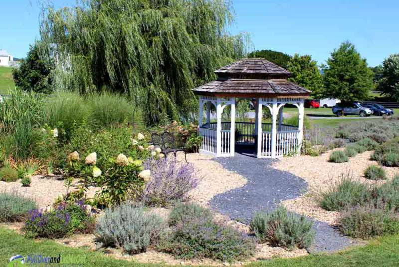 Gazebo at White Oak Lavender PullOverandLetMeOut