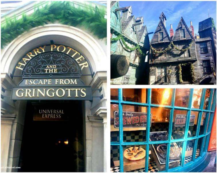The Wizarding World of Harry Potter Diagon Alley PullOverandLetMeOut