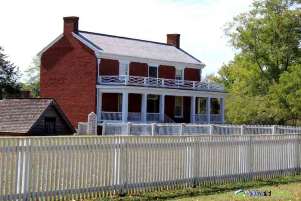 The McClean House Appomattox Courthouse PullOverandLetMeOut