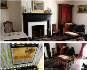 McClean House parlor Appomattox Courthouse PullOverandLetMeOut