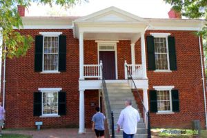 Appomattox Courthouse PullOverandLetMeOut