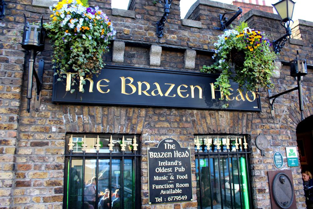 Brazen Head Pub Dublin Visit Ireland Now PullOverAndLetMeOut