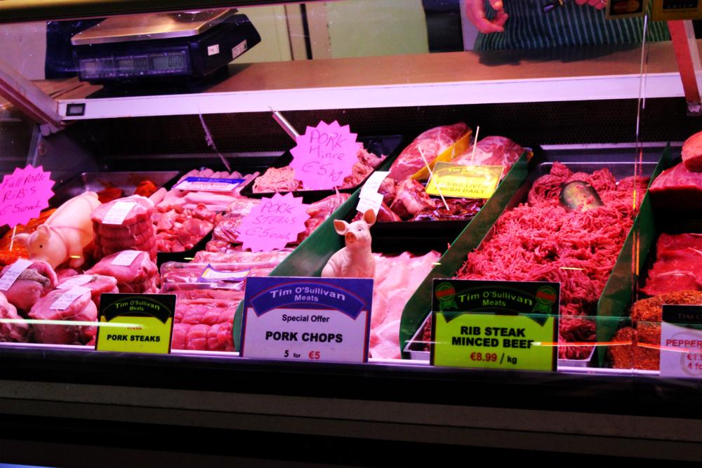 pork case at English Market Cork Visit Ireland Now PullOverAndLetMeOut