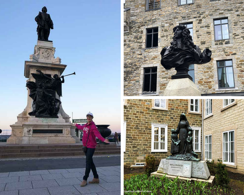 Things to do in Quebec statues PullOverAndLetMeOut (1)