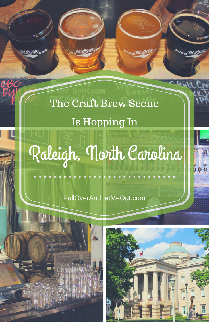 The Craft Brew Scene Raleigh, North Carolina PullOverAndLetMeOut (1)