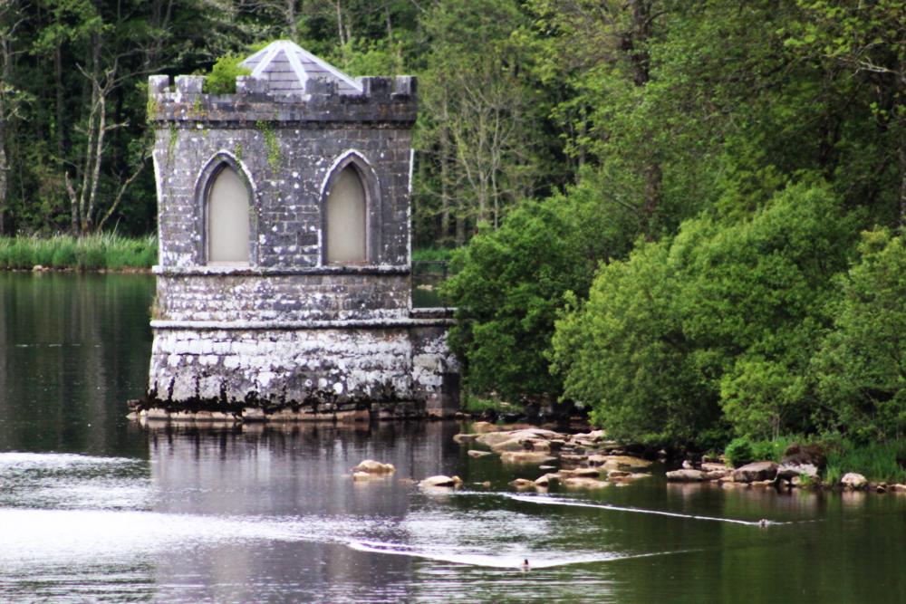 ancient bath house at Lough Key PullOverAndLetMeOut