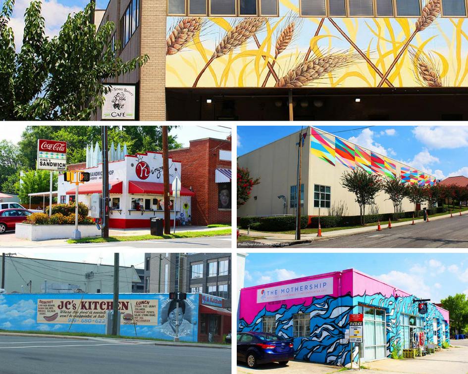 Durham Street Art PullOverAndLetMeOut