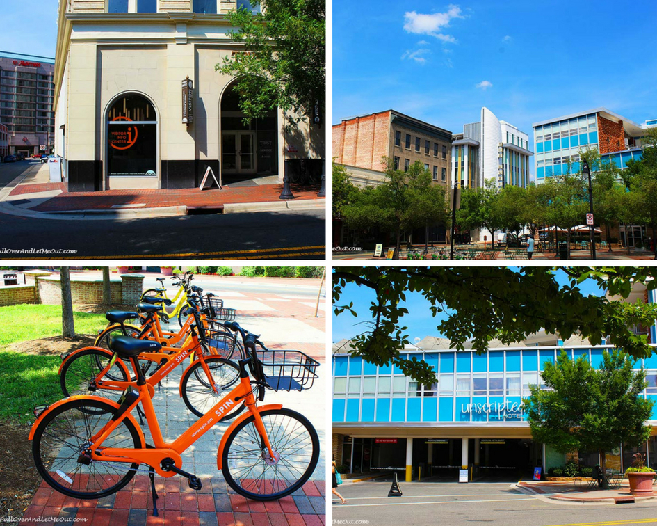 Durham Visitors Center Hotels and Bikes PullOverAndLetMeOut