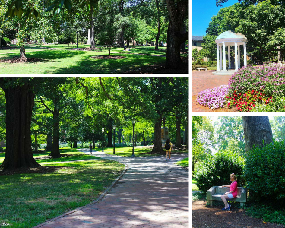 UNC Campus Stroll Romantic Chapel Hill PullOverAndLetMeOut