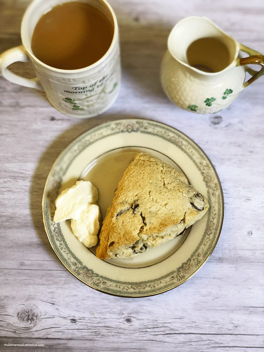 Cranberry-Scones-with-tea-and-clotted-cream-PullOverAndLetMeOut