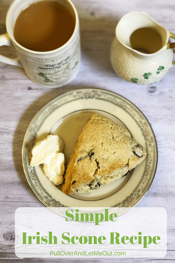 Simple Irish Scone Recipe PullOverAndLetMeOut (1)