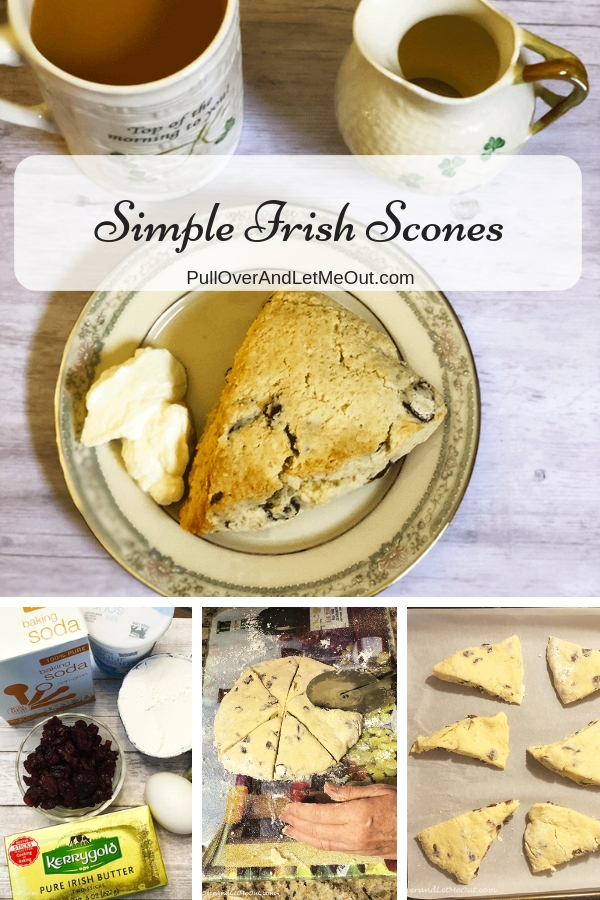 This is a super simple and super yummy recipe for Irish scones!