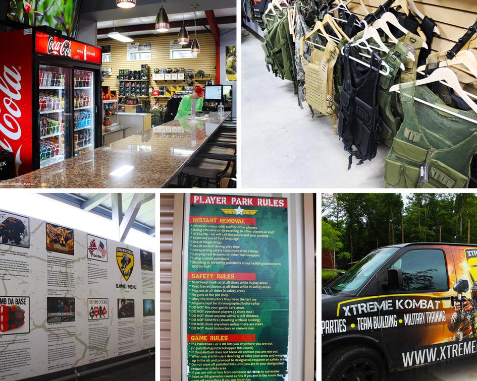 Xtreme Park Adventures Shop Snack Bar etc PUllOverAndLetMeOut