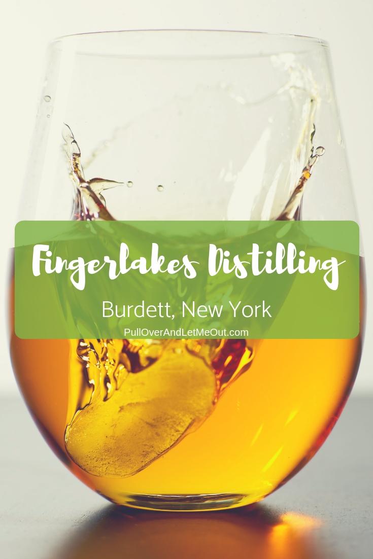 Fingerlakes Distilling Burdett, New York is located on the East Shore of Seneca Lake #PullOverAndLetMeOut #FingerLakes #NewYork #Distillery #whiskey #gin #vodka #spirits #distillerytour #tours #travel #vacation #beverages
