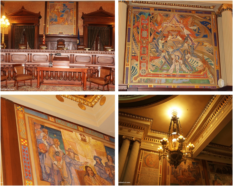 PA Supreme Court chamber Harrisburg, PA PullOverAndLetMeOut
