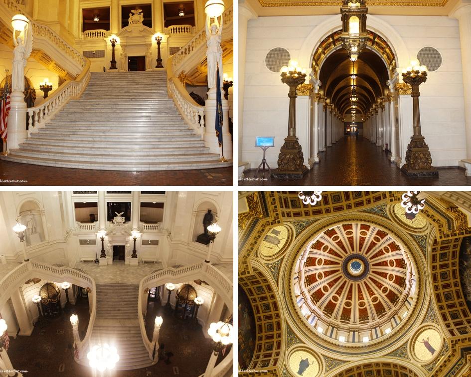 Rotunda Pennsylvania State Capitol Harrisburg, PA PullOverAndLetMeOut
