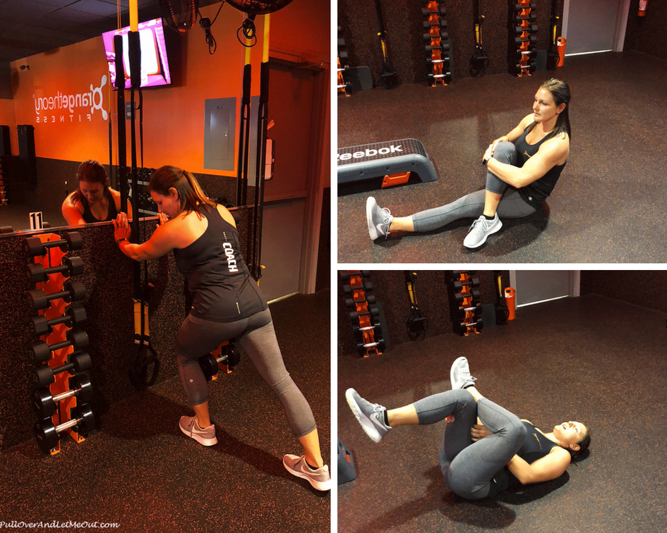 stretches staying fit while traveling Orange Theory PullOverAndLetMeOut