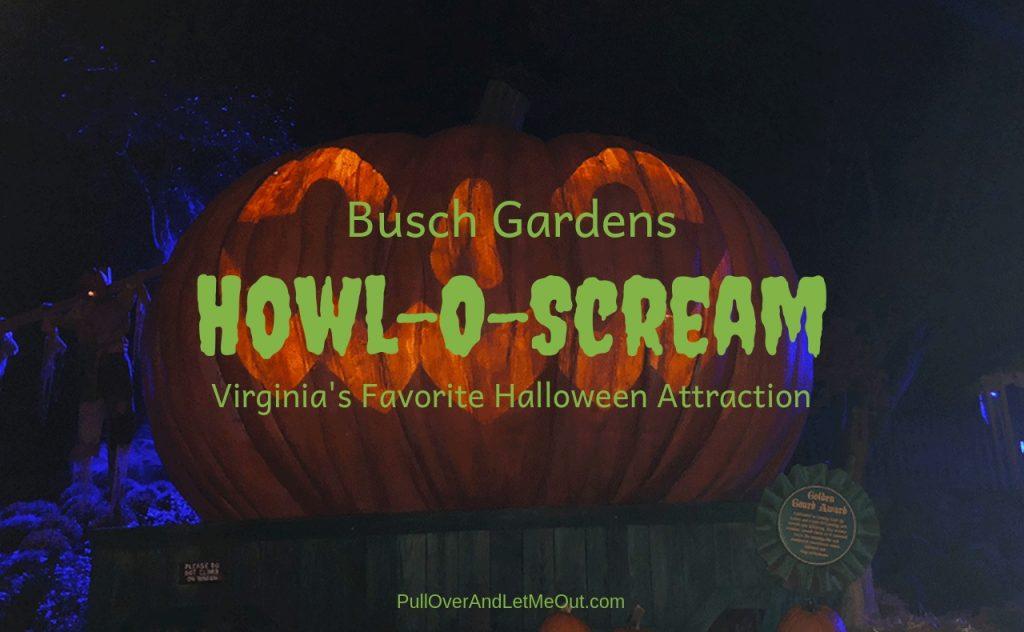 Busch Gardens Howl-O-Scream PullOverAndLetMeOut