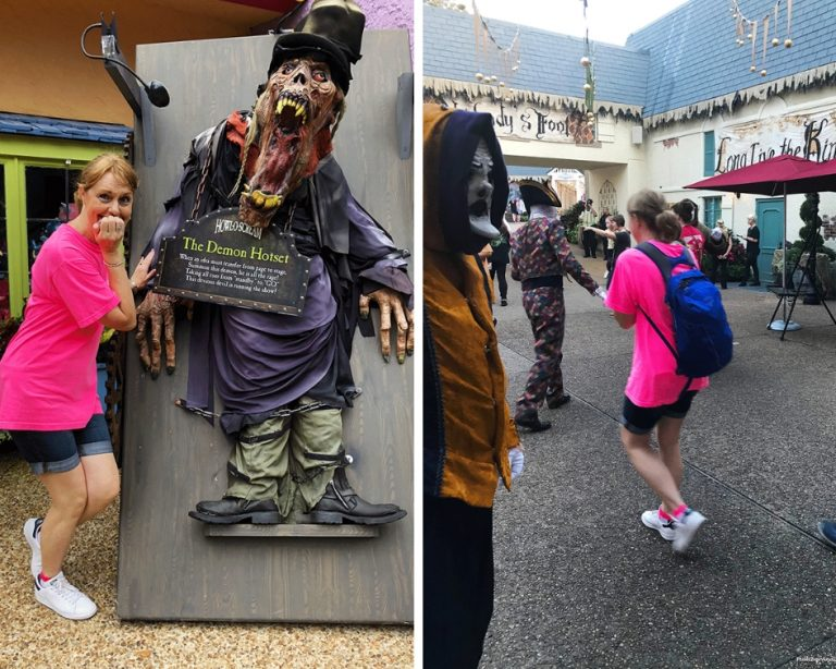 Busch Gardens Howl-O-Scream ghouls PullOverAndLetMeOut