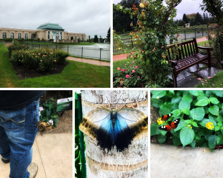 Hershey Gardens and Butterfly Conservatory Hershey Harrisburg PA PullOverAndLetMeOut