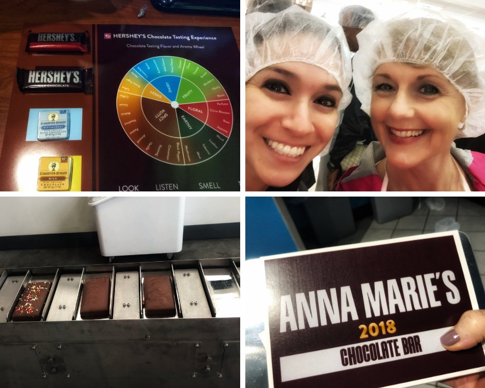 Hershey's Chocolate World Hershey Harrisburg PA tasting and make your own PullOverAndLetMeOut