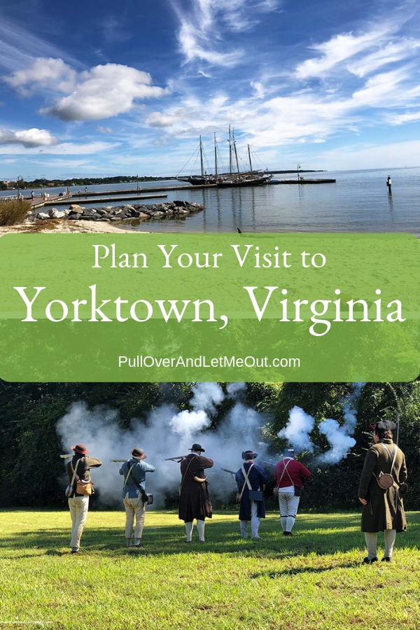 Yorktown, Virginia is a delightful Colonial town well worth visitng.