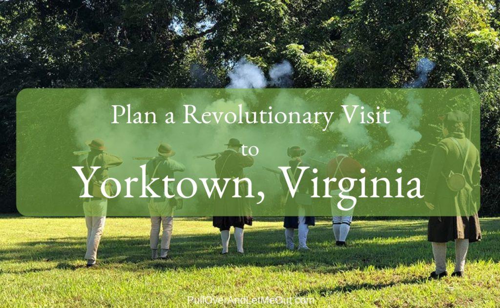 Yorktown, Virginia PullOverAndLetMeOut
