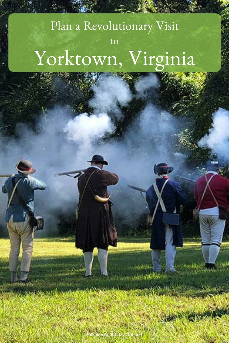 Located in the Tidewater region of Virginia, Yorktown is part of a colonial triangle of tourism. The low-lying locality is situated at the end of the Colonial Parkway and is a short drive from Williamsburg and Jamestown – two other important colonial settlements. #PullOverAndLetMeOut #Yorktown #Virginia #Historical #Travel #Colonial #KidFriendly #FieldTrips #RevolutionaryWar