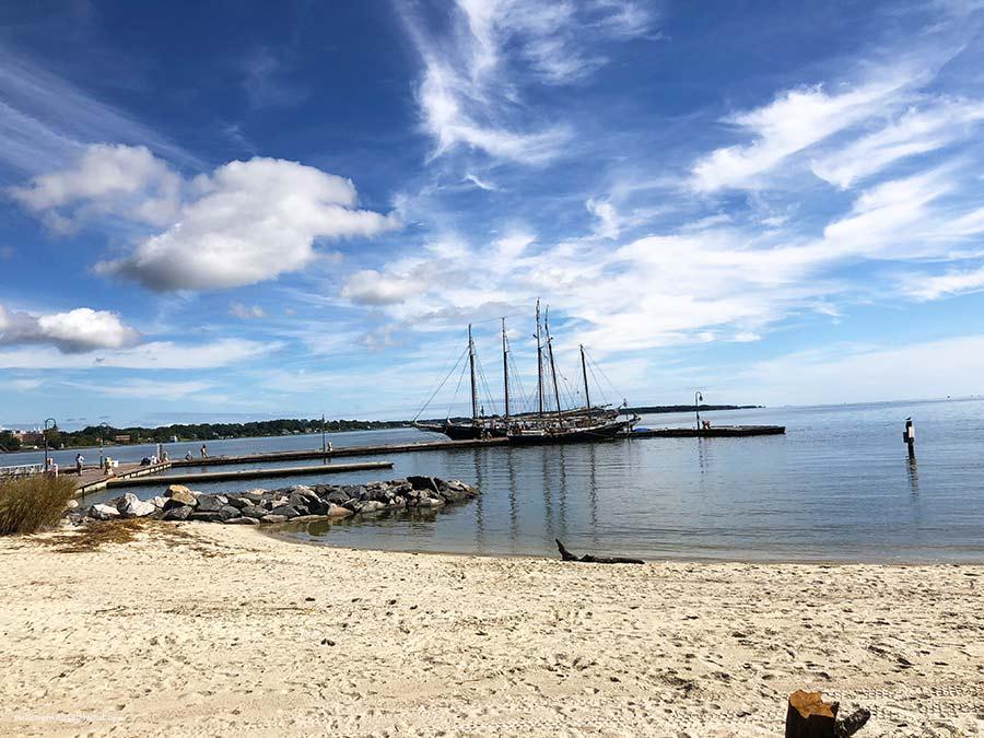 ship-at-Yorktown,-VA-PullOverAndLetMeOut