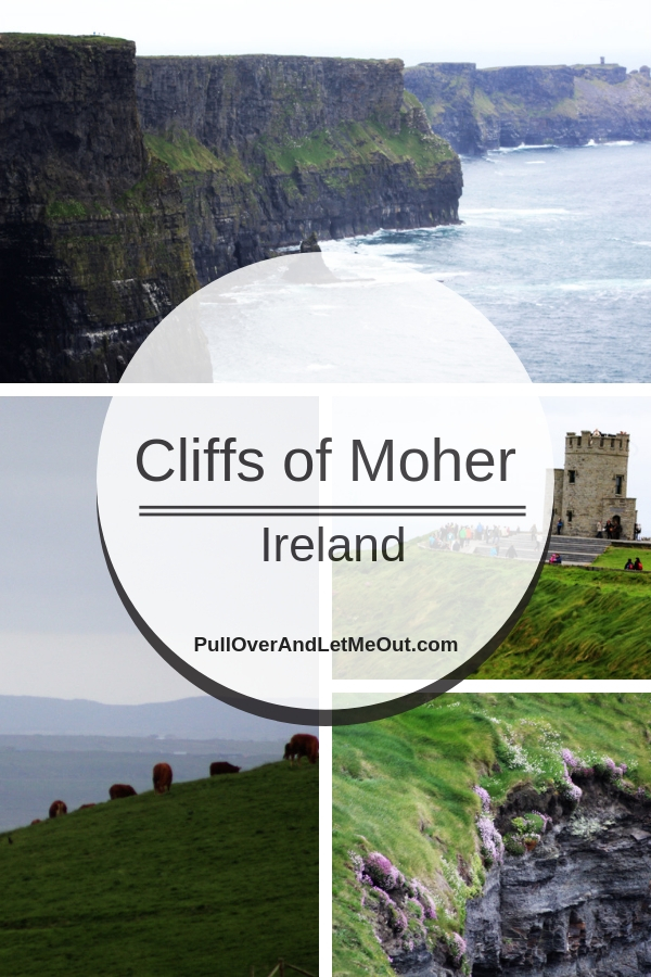 Cliffs of Moher Ireland is a tourist destination on Ireland's west coast. The iconic landmark situated in County Clare is a favorite tourist destination and natural wonder. Here's a simple guide to planning a visit to the Cliffs of Moher. PullOverAndLetMeOut.com