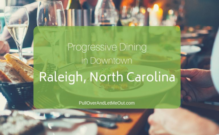Progressive Dining in Downtown Raleigh