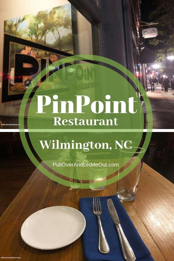 PinPoint Restaurant is an awesome restaurant in the heart of the historic district of Wilmington, NC. Delicious food, great service, and an incredible location.