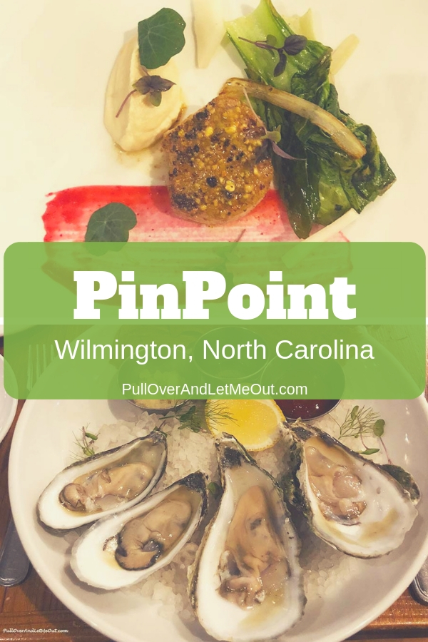 PinPoint Restaurant in Wilmington, North Carolina is the most amazing restaruant. Located on Market Street just a block from the Cape Fear River it's a stand out among Wilmington restaurants!