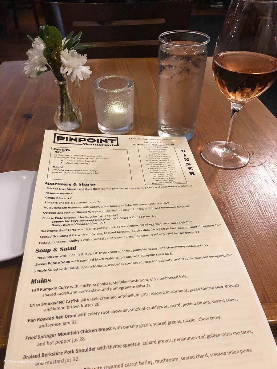 PinPoint-menu-with-wine-Wilmington-PullOverAndLetMeOut