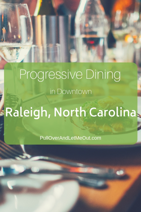 A professive dinner is the perfect way to experience the downtown Raleigh restaurant scene.