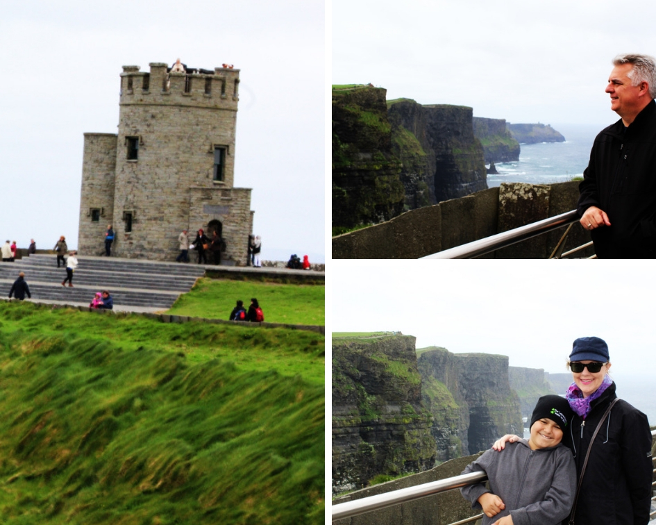 collage Cliffs of Moher