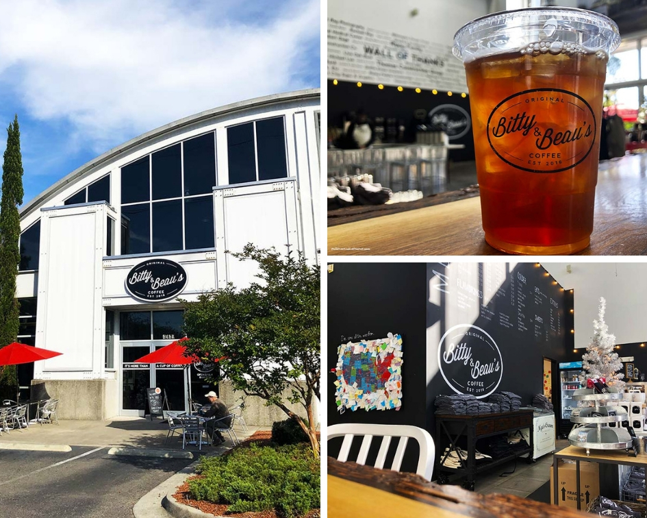 Bitty & Beau's Coffee Wilmington, NC PullOverAndLetMeOut.com