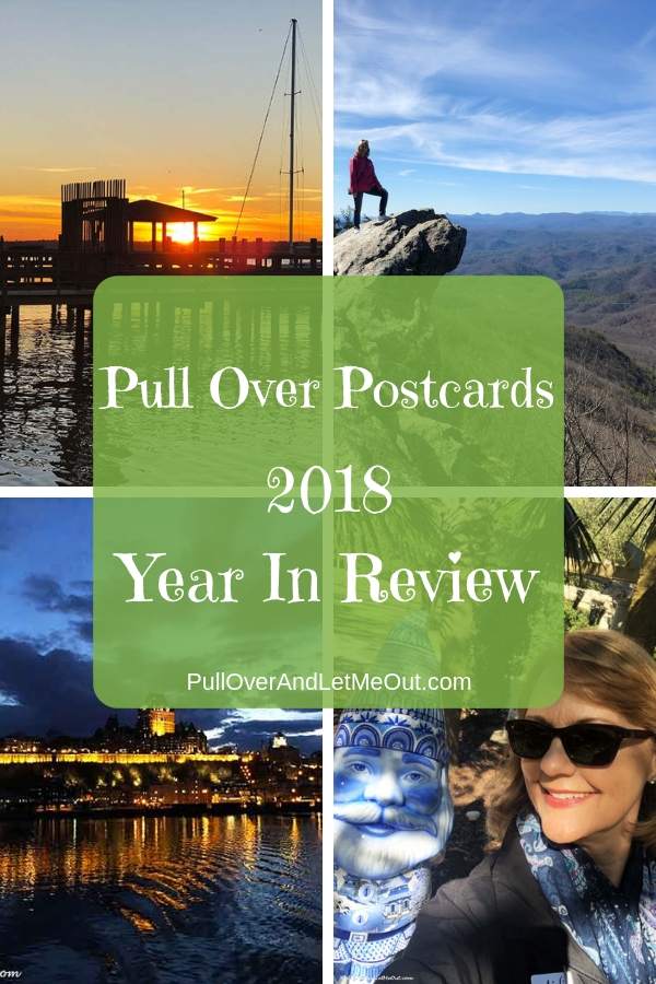 Pull Over Postcards 2018 Year in Review is a heartwarming look back at the year. If you love travelling and exploring you'll want to check out all the wonderful journeys of the year!