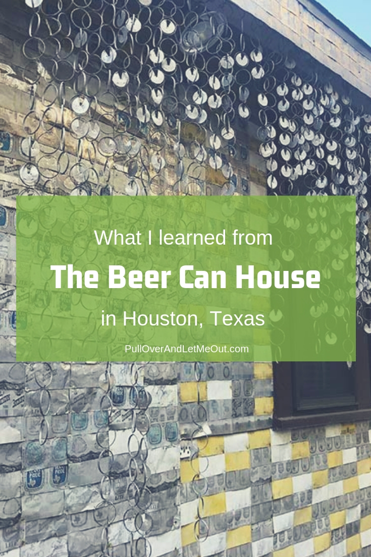 The Beer Can House is a folk art landmark in Houston., Texas. The quirky house is one of those places you simply must see to believe!