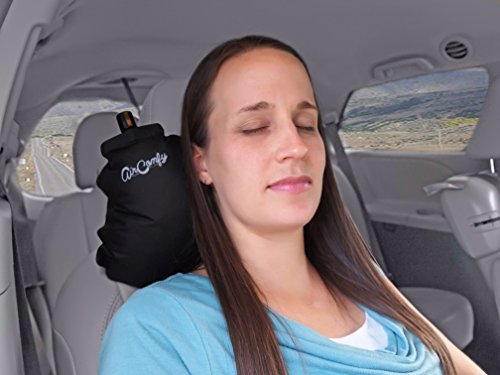 Aircomfy Ease Inflatable Travel Pillow With Luxuriously