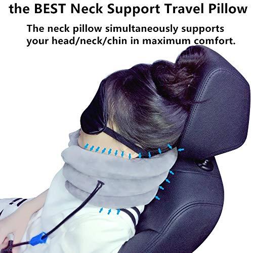 Ankaka T2 Travel Pillow Airplane Pillow Neck Pillow For
