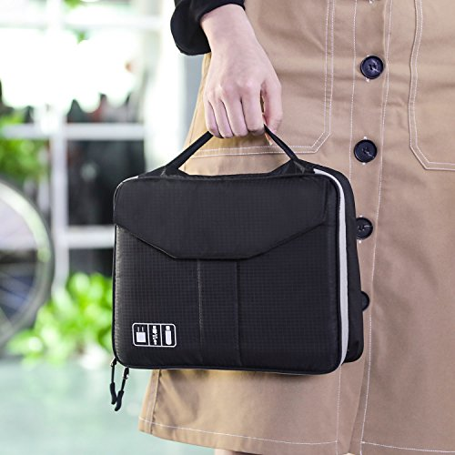 Electronics Organizer Jelly Comb Electronic Accessories Double Layer Cable
