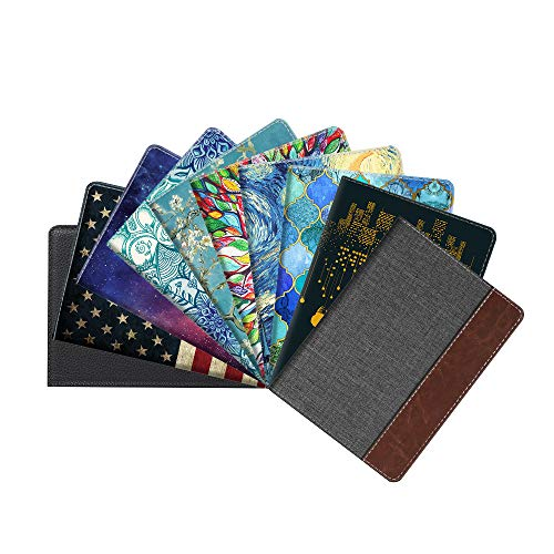 3961c1ea1a7e Fintie Passport Holder Travel Wallet RFID Blocking PU Leather Card Case  Cover