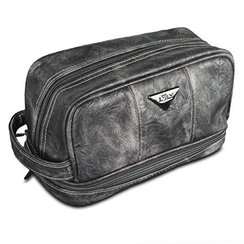 Leather Toiletry Bag For Men Dopp Kit