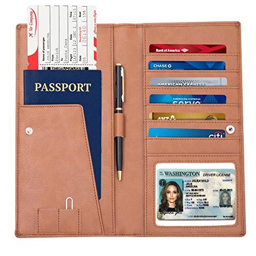 Passport holder passport wallet for women