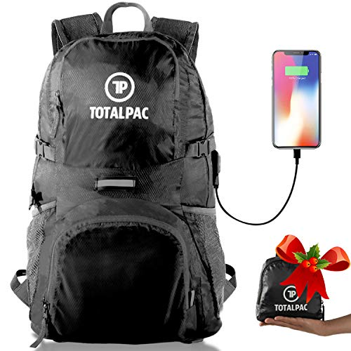 2642f4bcf Totalpac Backpacks - Small Travel Backpack for Women & Hiking Gear Daypack  Bags for Men - Carry on Packable Traveling Accessories Bag - Mens Womens ...