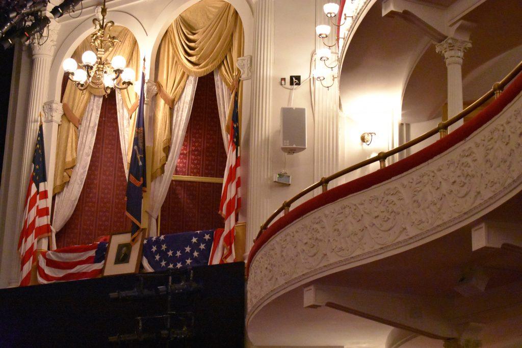 PullOverAndLetMeOut Ford's Theatre - Lincoln's Box